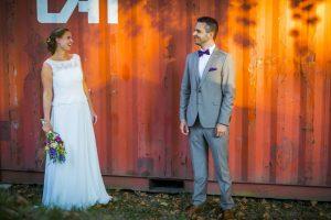 Hochzeitsreportage - Trauung unter freiem Himmel