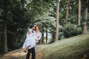 Hochzeitsreportage - Freie Trauung im eigenen Garten