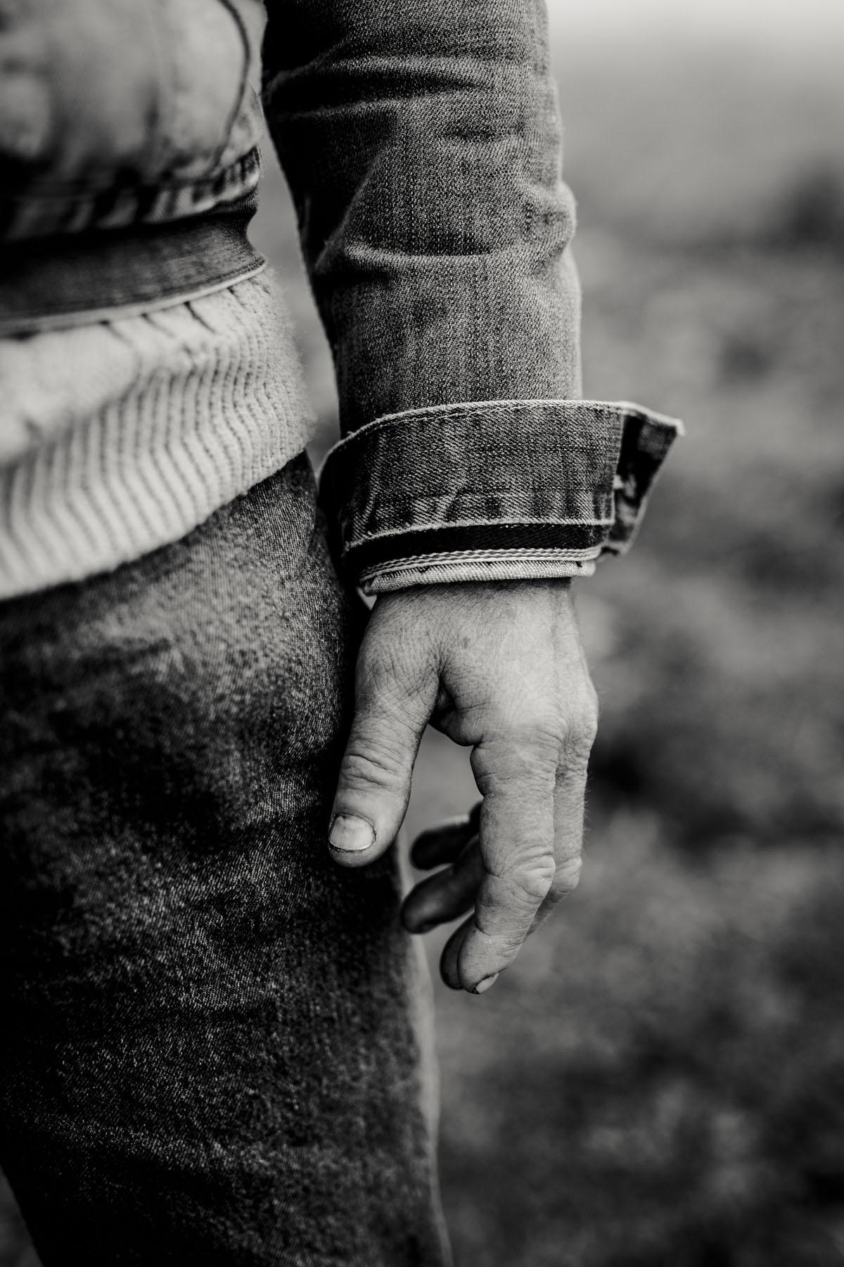 Siegfried Hartl | Der schöne Mann im Nebel - Fotografin Guelten Hamidanoglu Koeln Portraits  2580
