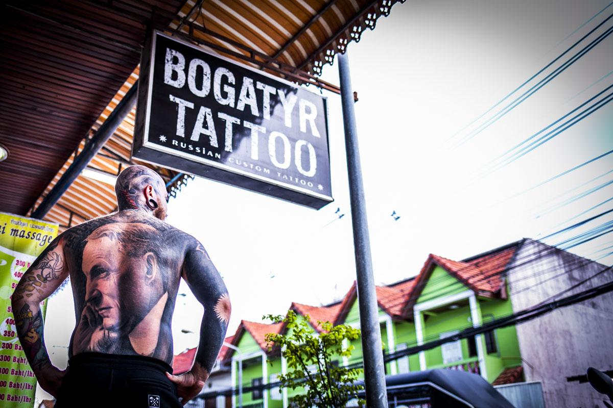 Bogatyr Tattoo in Thailand - Fotografin Guelten Hamidanoglu Koeln portraits  3978