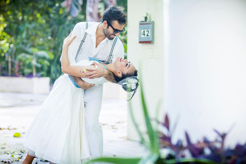 Exotisches Hochzeitsshooting mit Hochzeitsfotografin