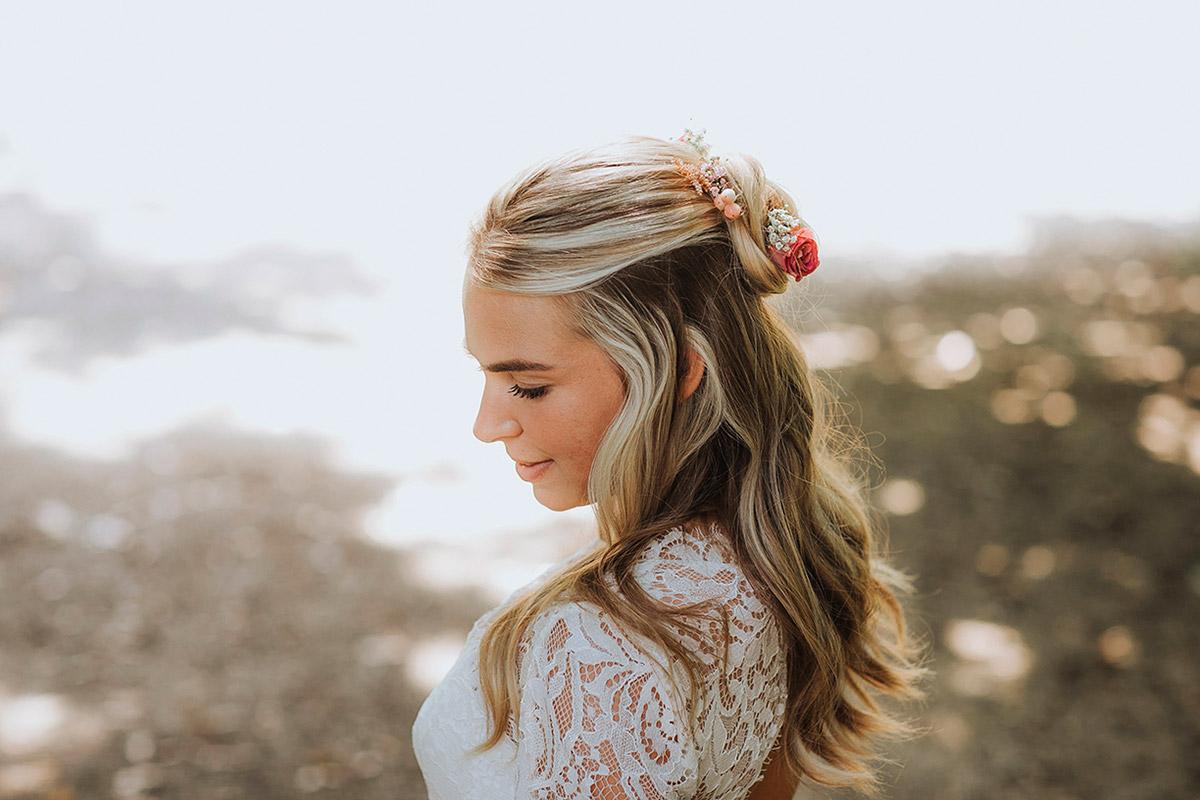 Wunderschöne Braut mit Gülten Hamidanoglu