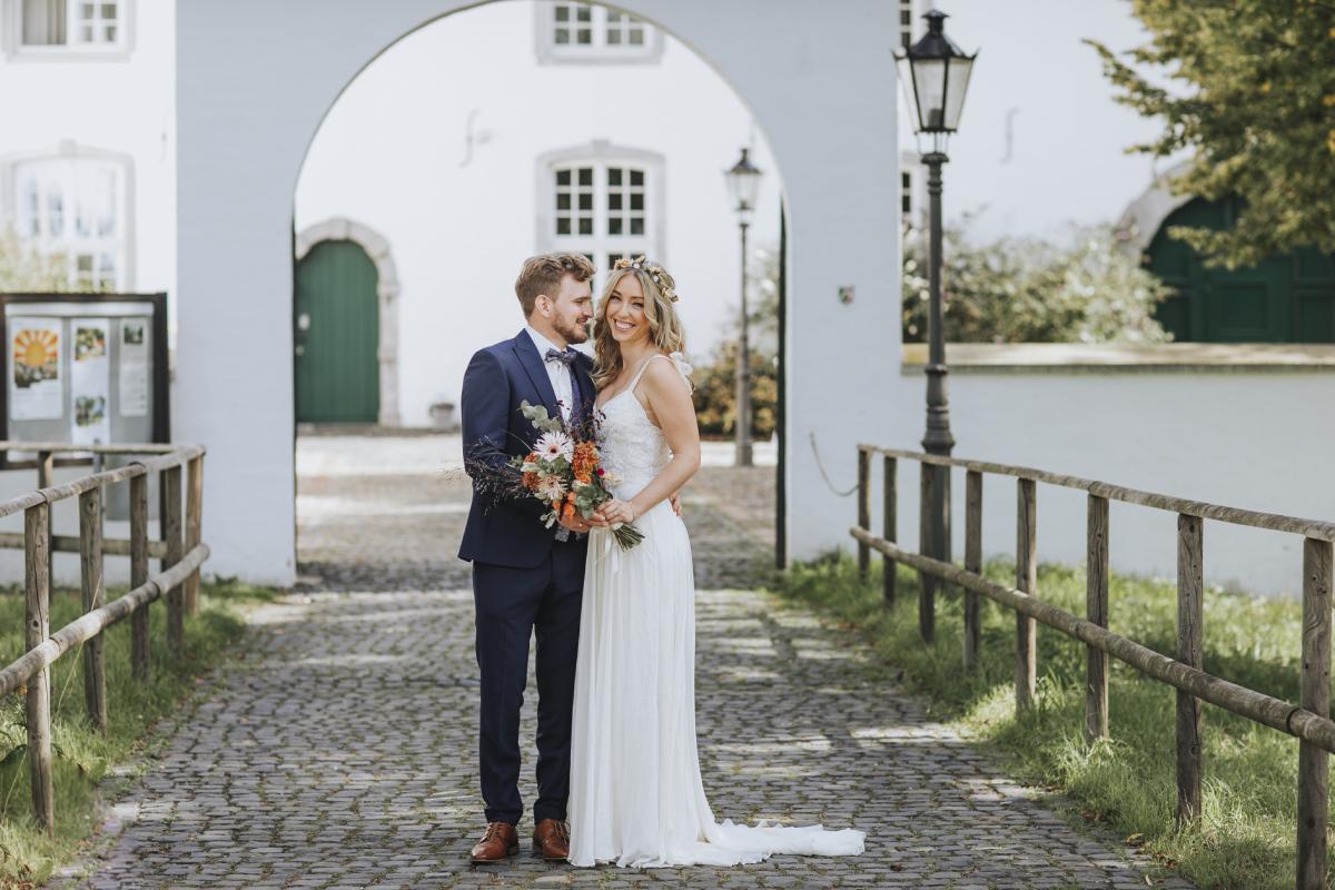 Brautpaarshooting im Rahmen einer Hochzeitsreportage