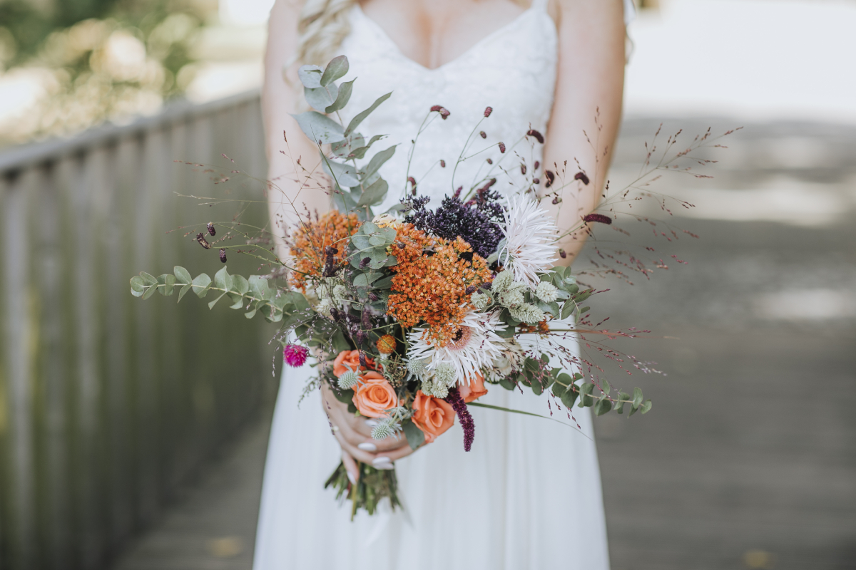 Wunderschöner Brautstrauß - Hochzeitsfotografie aus NRW