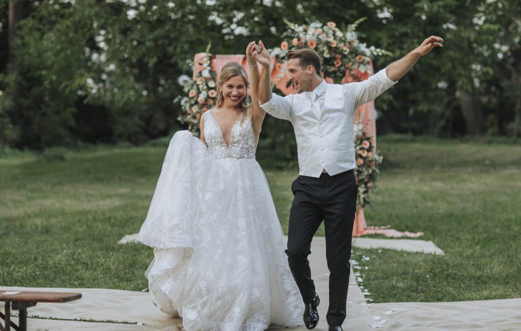 Anne und Sven | Hochzeit mit freier Trauung auf der Wasserburg Geretzhoven