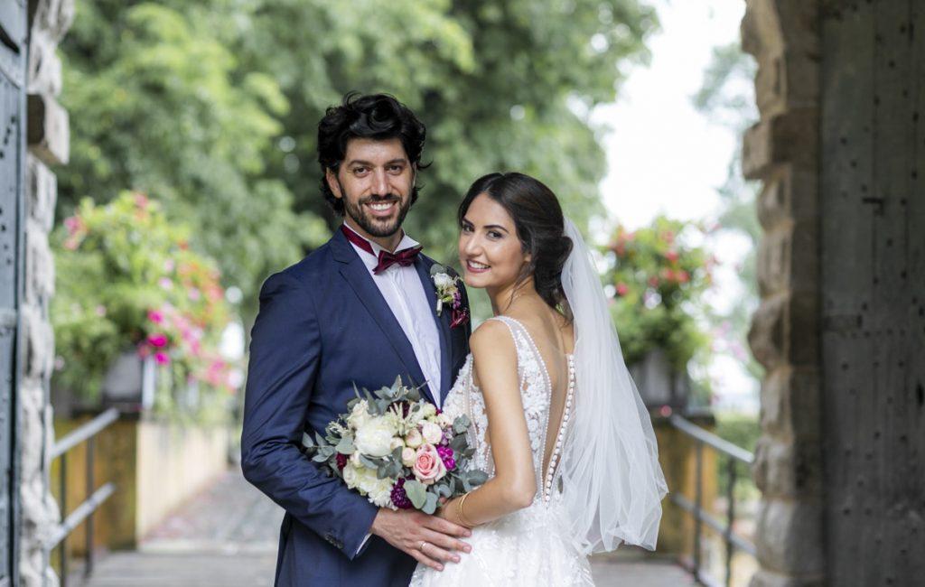 Sahar und Iljas | Märchenhochzeit im Steigenberger Hotel
